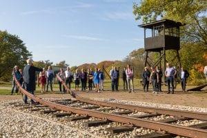 Terug naar Westerbork kick off van het project bij Herinneringscentrum Kamp Westerbork