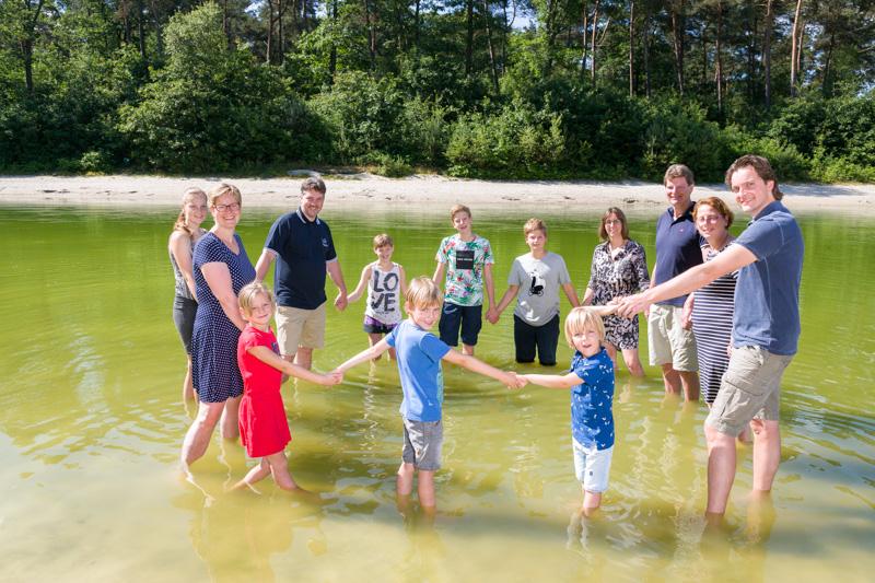 Familie fotoshoot Kibbelkoele Noord-Sleen