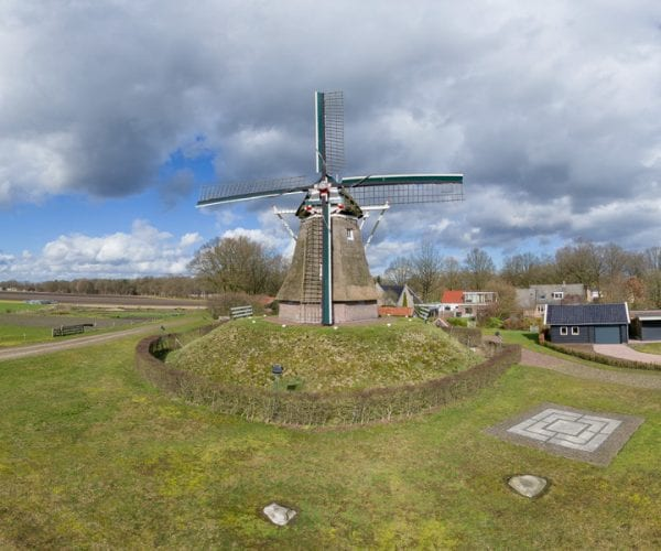 Bedrijfsfotografie Het Drentse Landschap Aelder Meul in Aalden