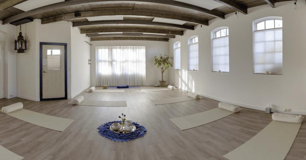 Bedrijfsfotografie 360-graden fotografie Yogastudio De Smederij in Noordsleen