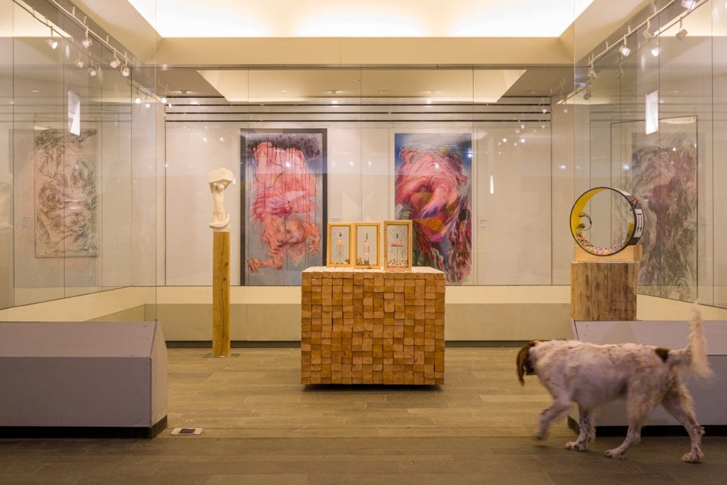 Micks Art Gallery tijdens broodje bahco VPB Emmen