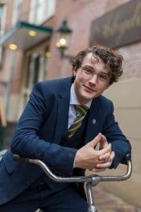Voorzitter van een studentenvereniging in Leeuwarden