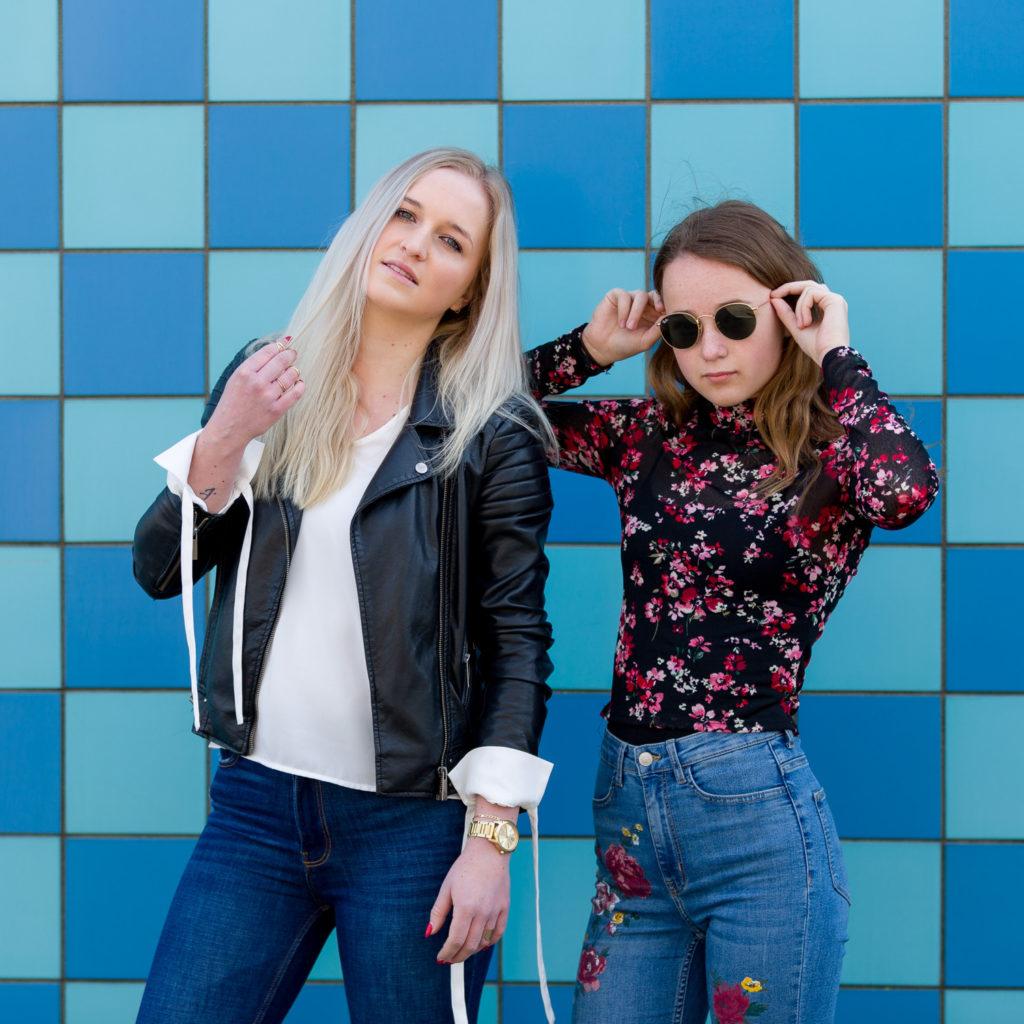 Basistraining fotografie workshop portretfotografie met modellen Ilse en Chrissy