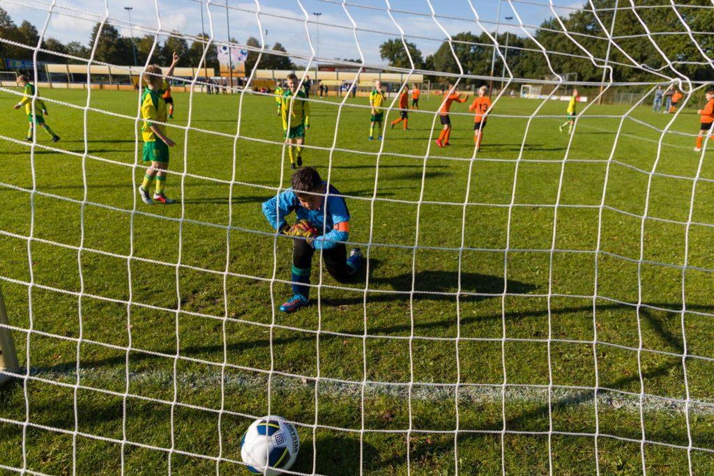 Basistraining fotografie workshop bij de voetbal vereniging DZOH