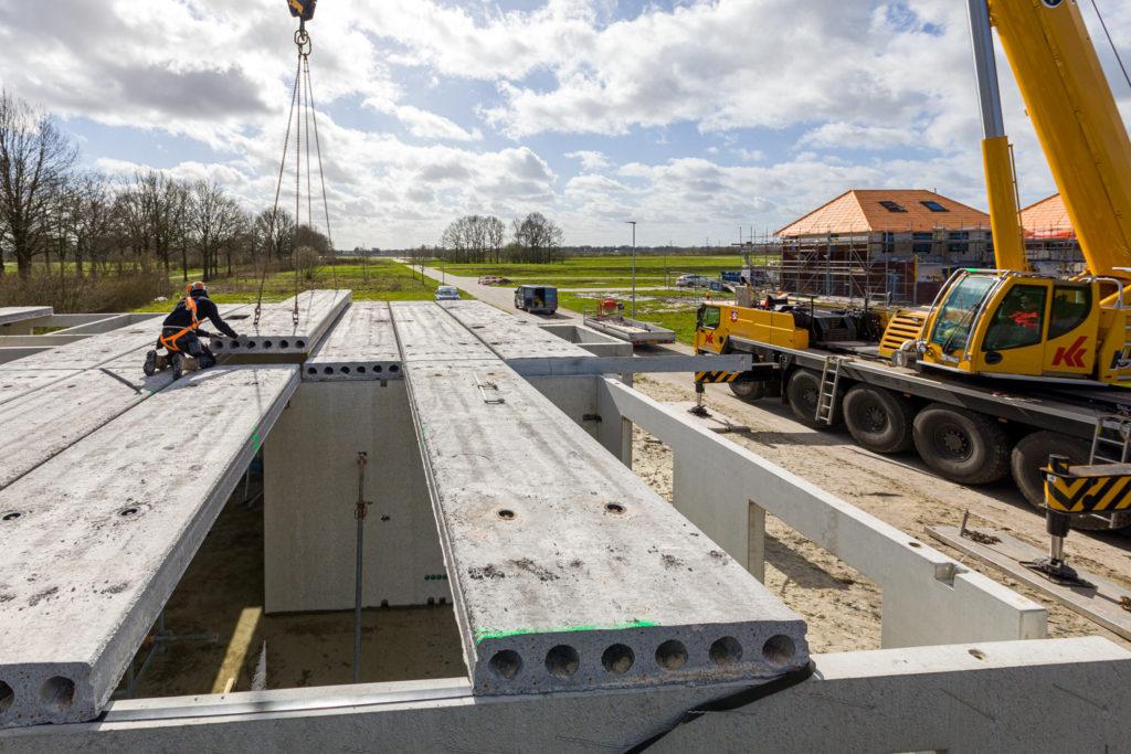 Bouwproject in Emmen op de Delftlanden