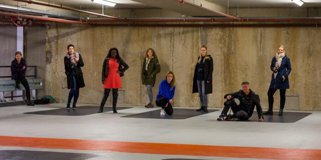 De groep van de Workshop Basis Fotografie